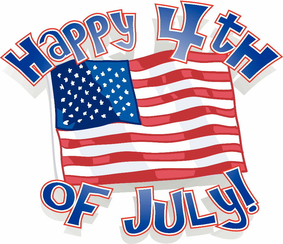 4th of july clipart happy