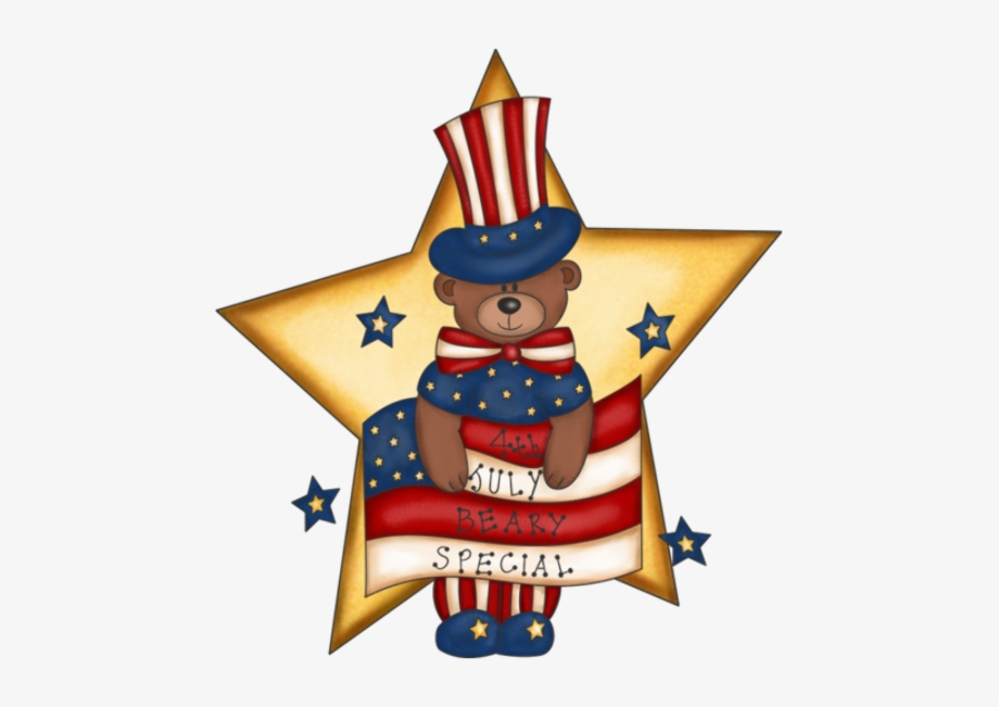 4th of july clipart cute