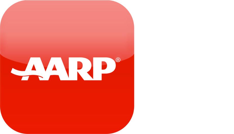 Aarp logo card