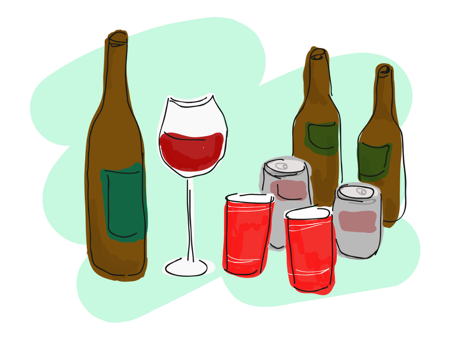 Alcohol clipart consumption enjoying