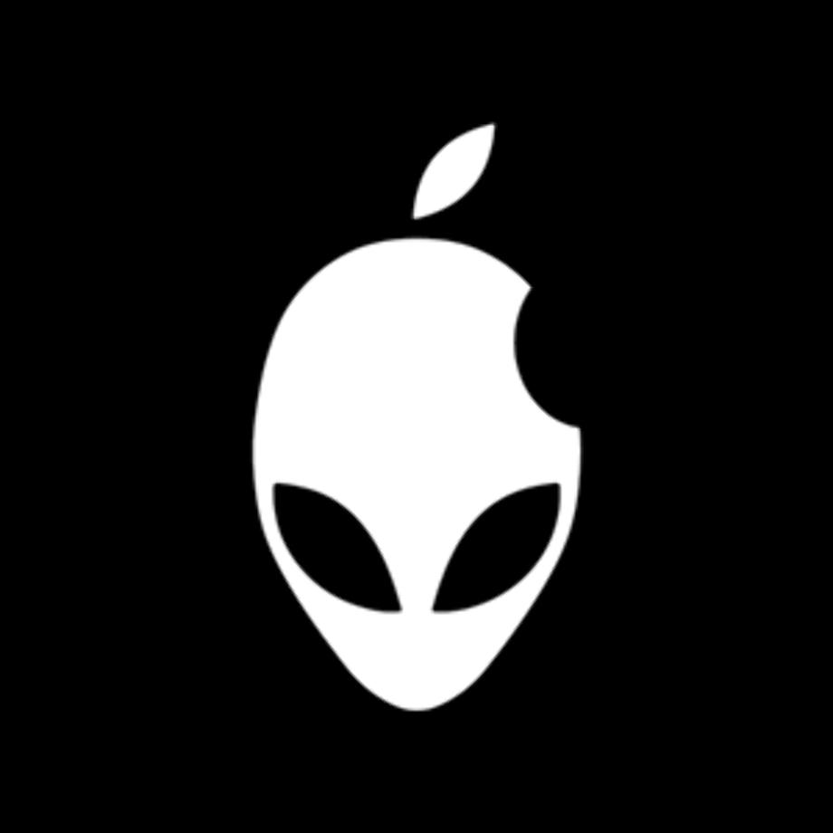 Alienware logo symbol details