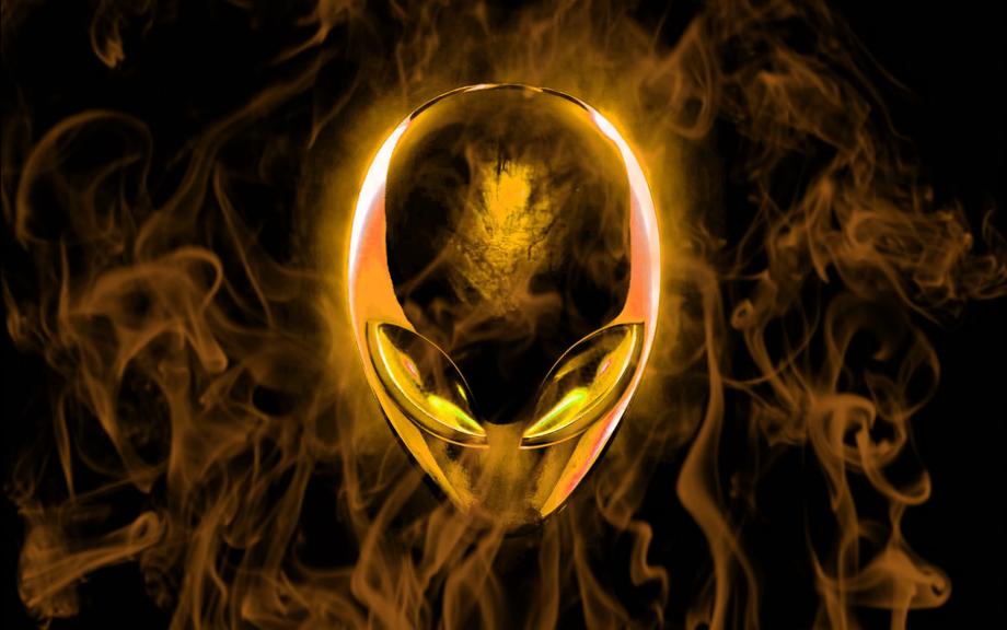 Alienware logo rainbow