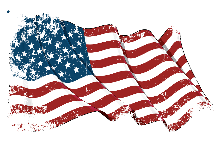 Download High Quality american flag transparent faded ...