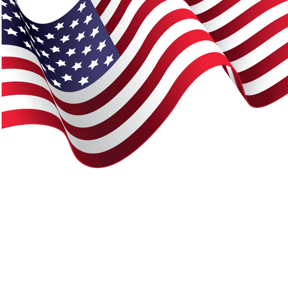 Download High Quality american flag transparent vector ...