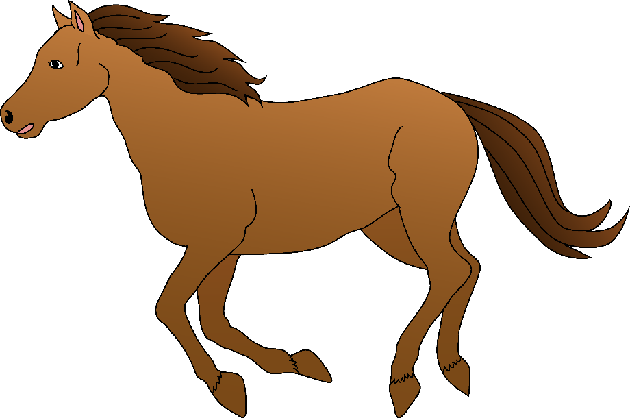 horse clipart realistic