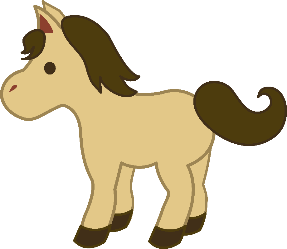 horse clipart baby