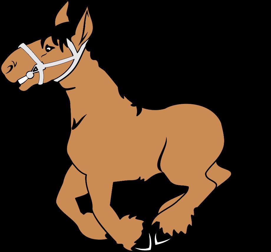 horse clipart vector