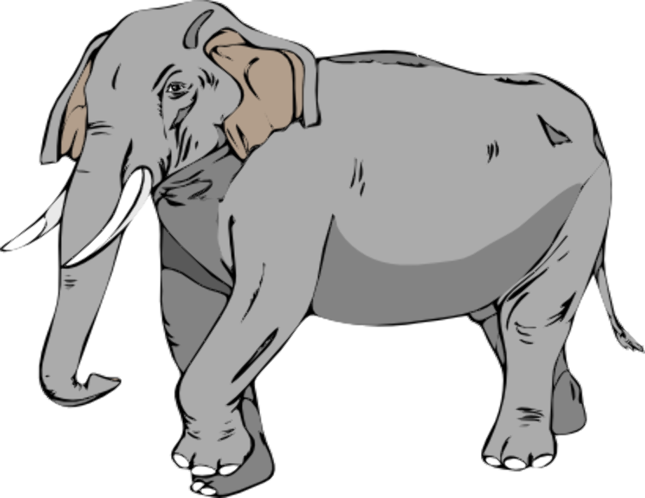 Animal clipart elephant