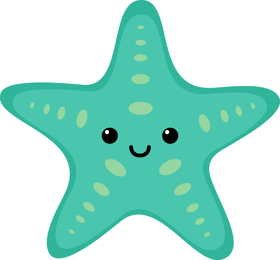 Animal clipart ocean
