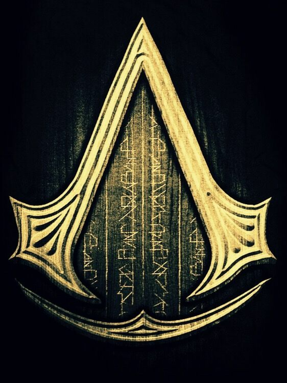 Download High Quality assassins creed logo gold ...