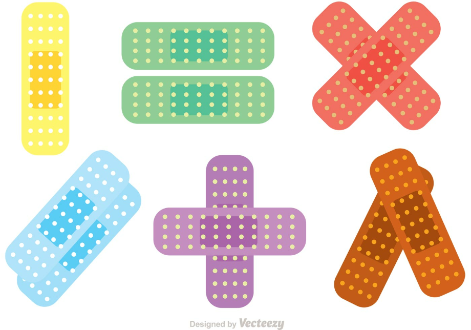 Download High Quality bandaid clipart colorful Transparent ...