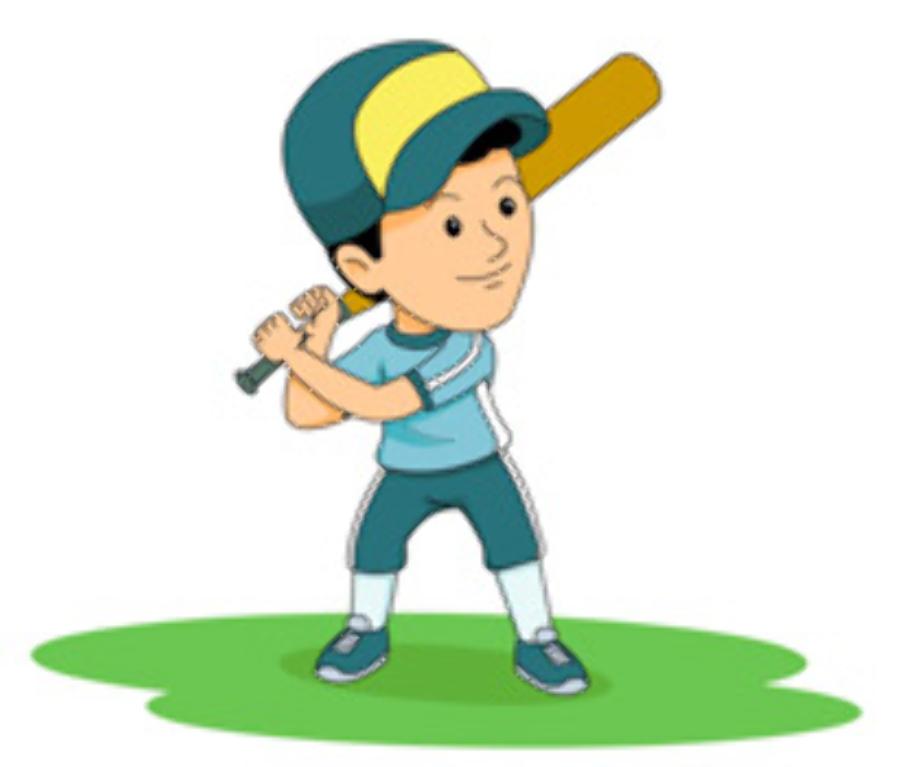 baseball clip art player