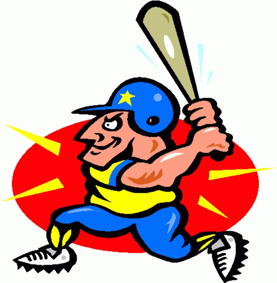 baseball clip art animated