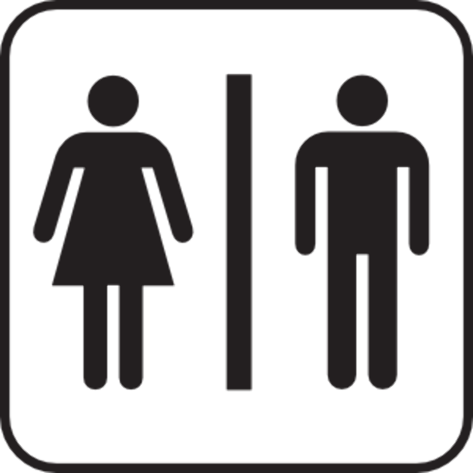 Person silhouette clipart washroom men