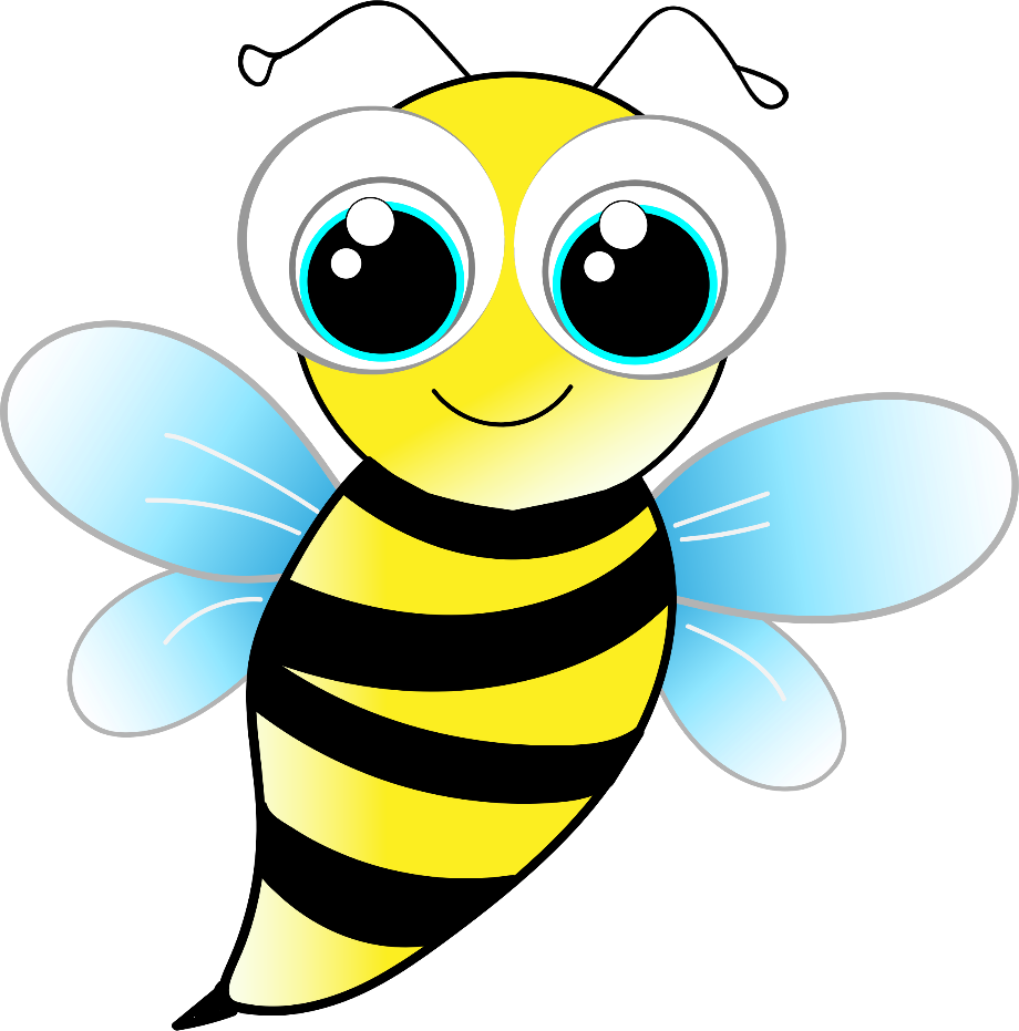 fly clipart yellow