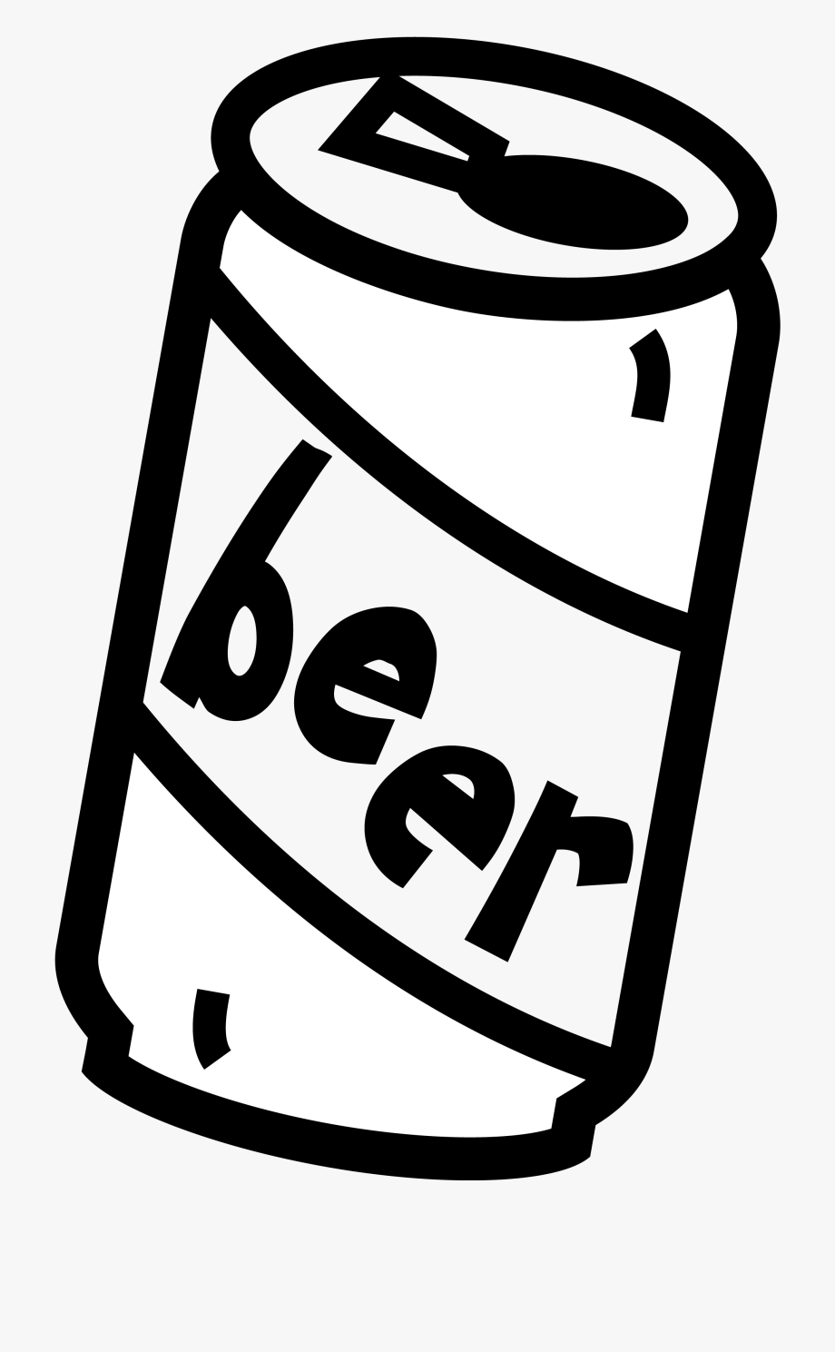 beer clipart can