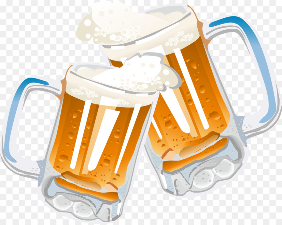 beer clipart clinking