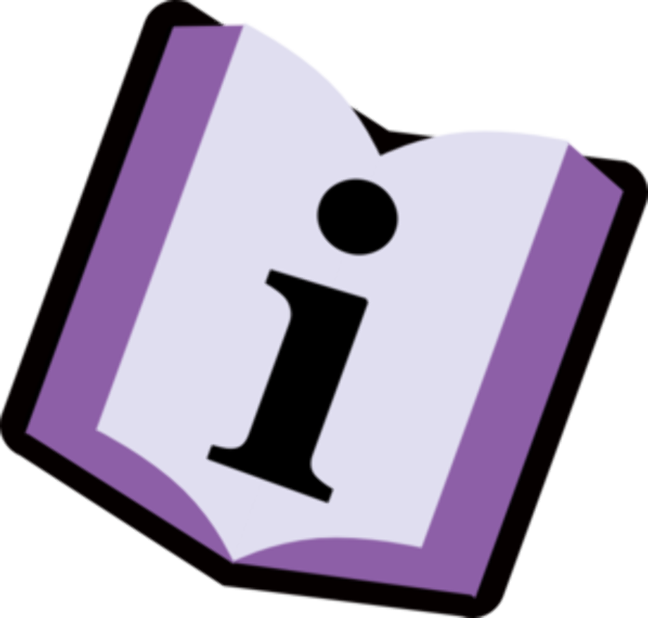 book clipart information