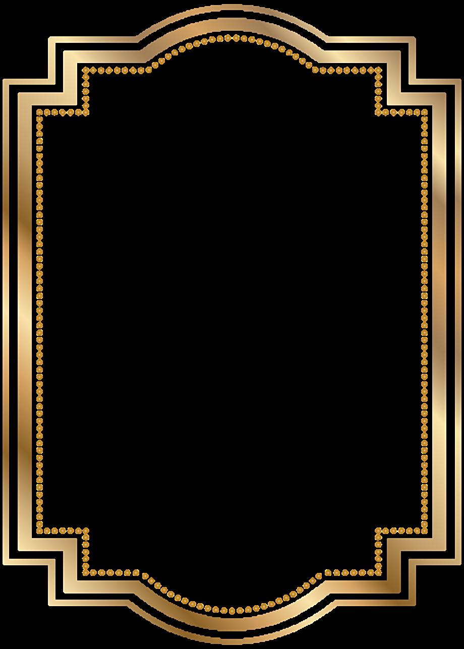 Transparent background png border