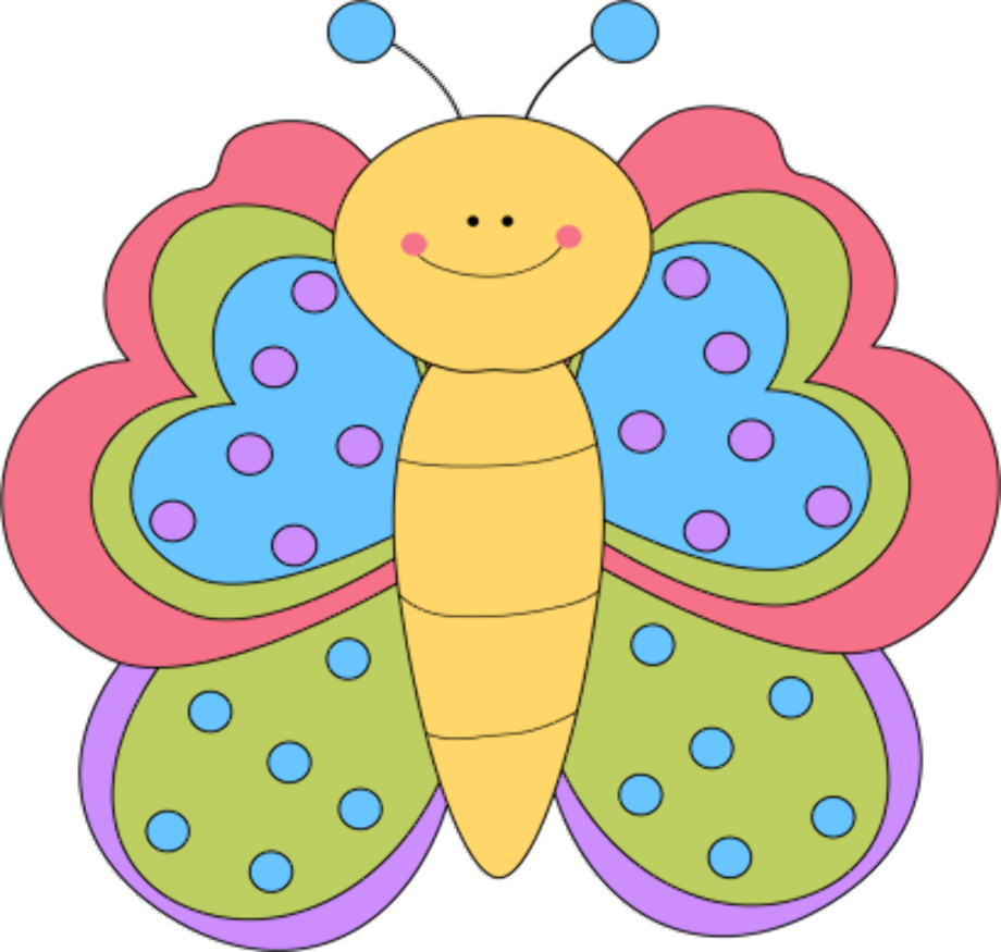 butterfly clipart cute
