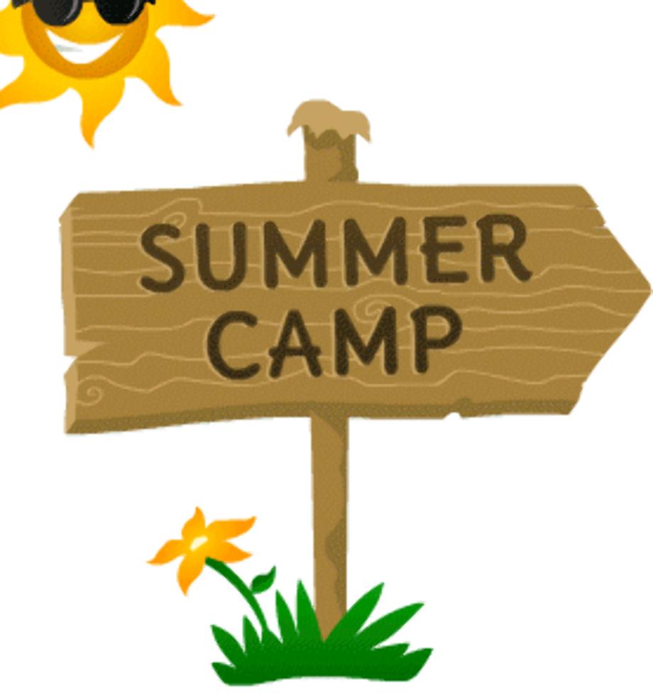 camping clip art summer