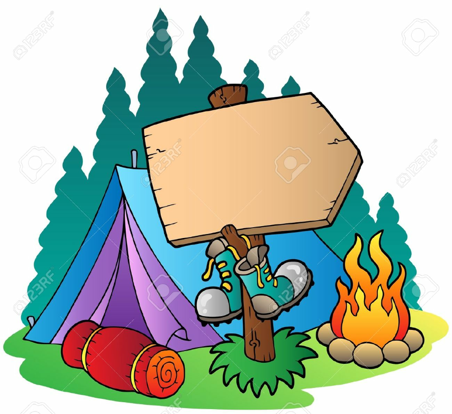 camping clip art outdoor