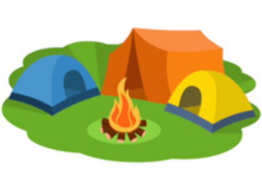 camping clipart tent