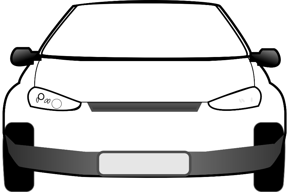 Car clipart front