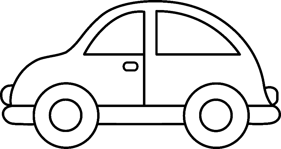 Car clipart back