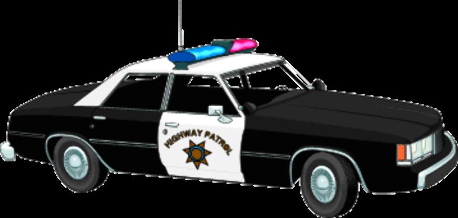 Car clipart police