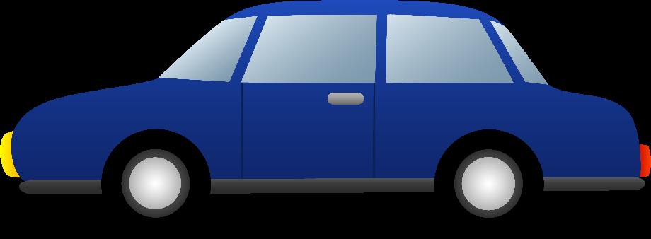 Car clipart blue