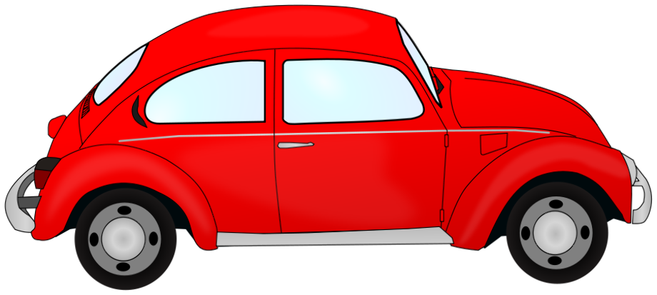 Car clipart red
