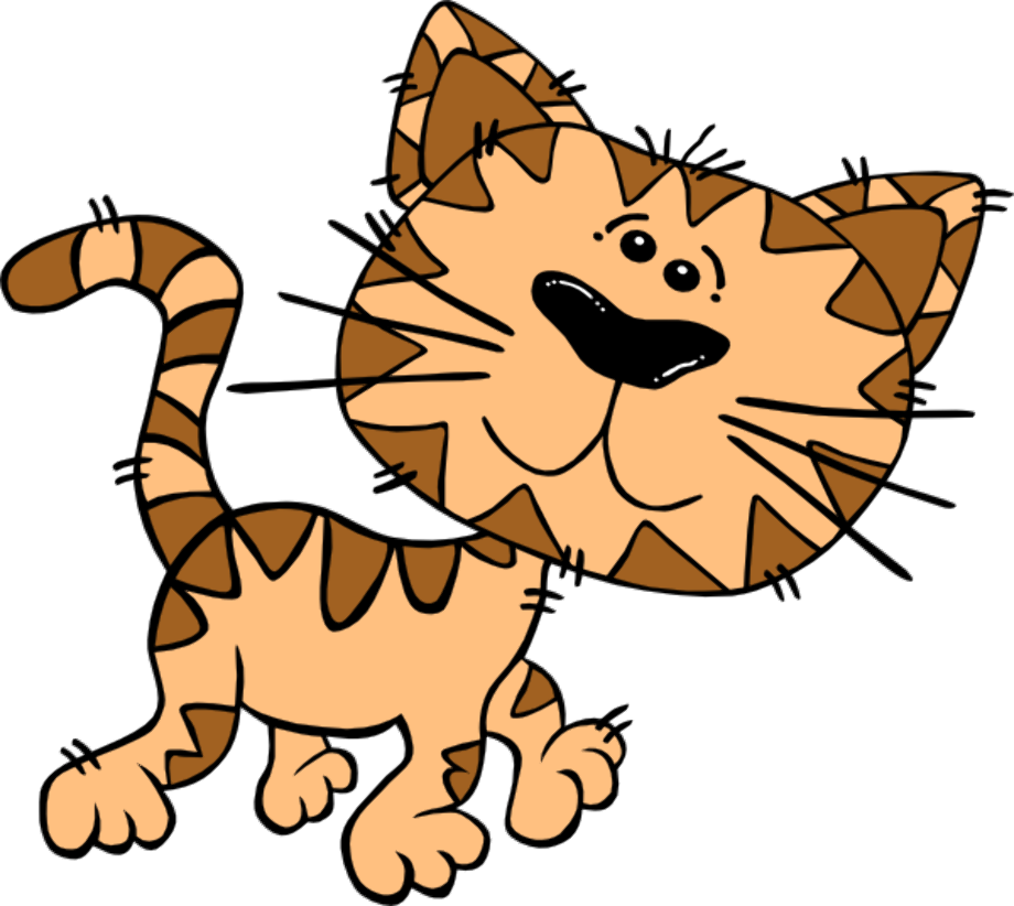 Download High Quality Cat clipart clker Transparent PNG ... (920 x 822 Pixel)