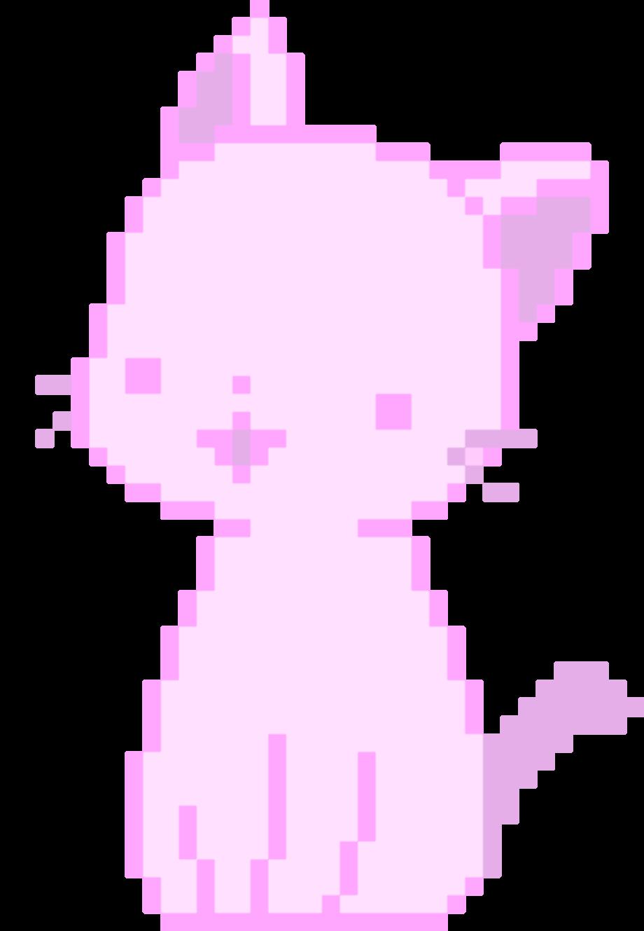 Cat transparent aesthetic