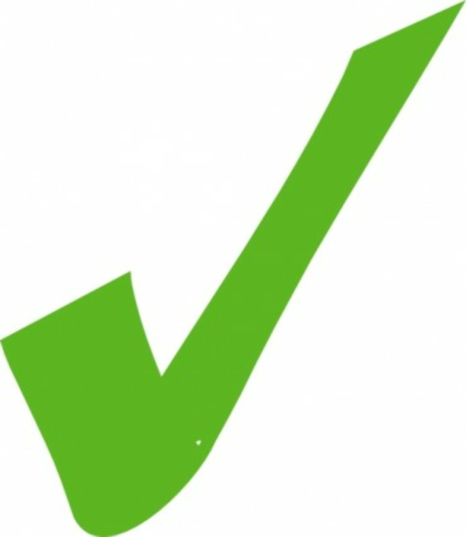 check mark clipart fancy