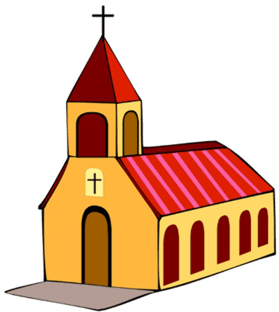 christian clipart church