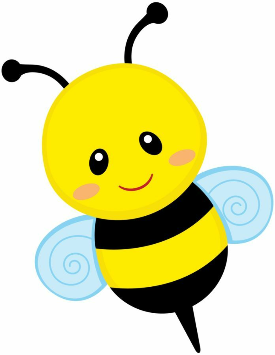 spring clipart bee