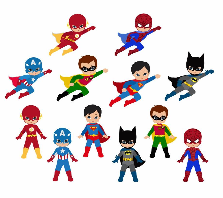 superhero clipart classroom