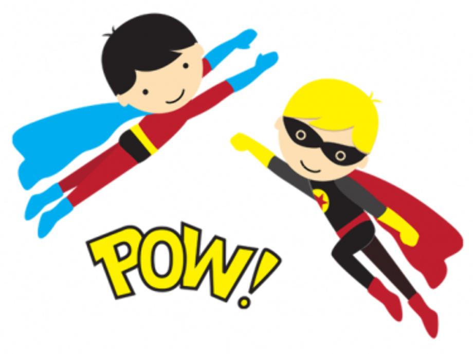 superhero clipart teacher