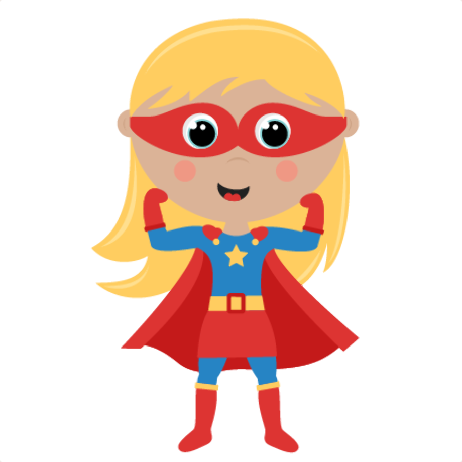 superhero clipart transparent background