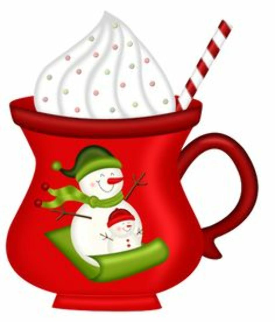 coffee clipart christmas