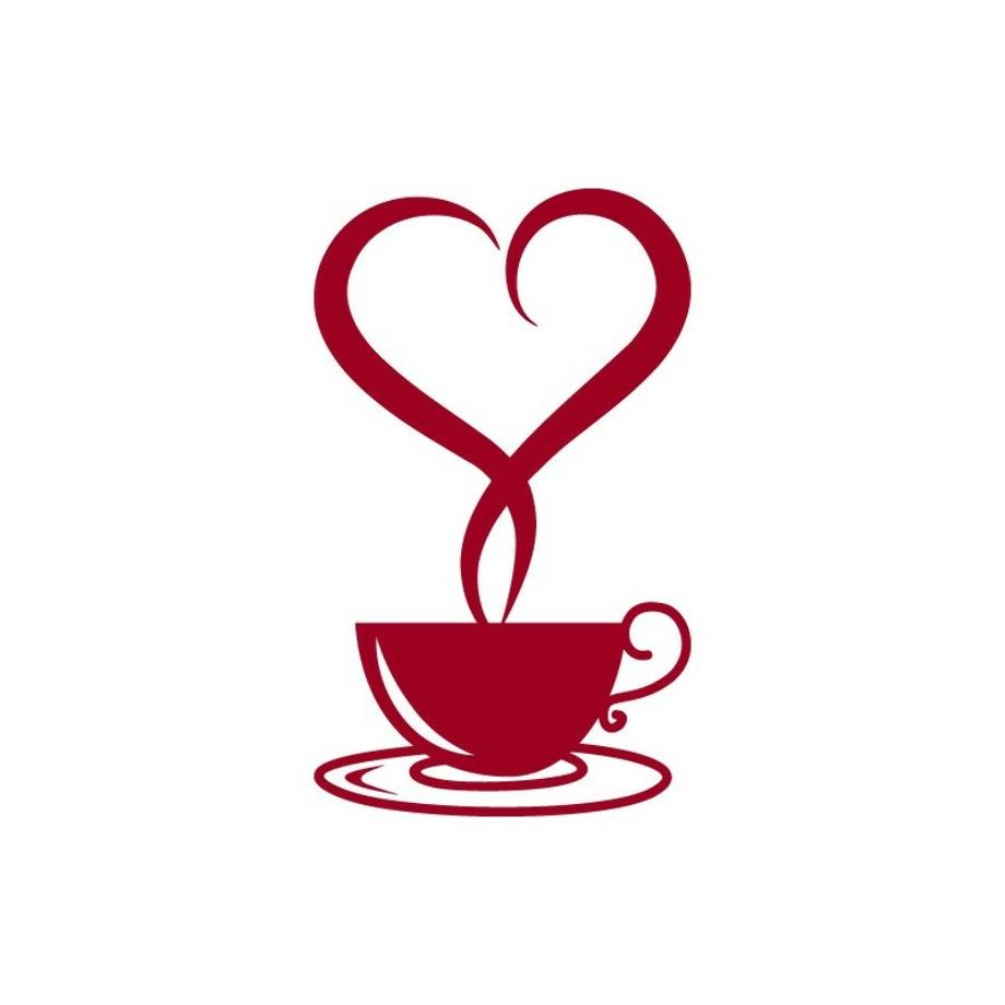 coffee clipart heart