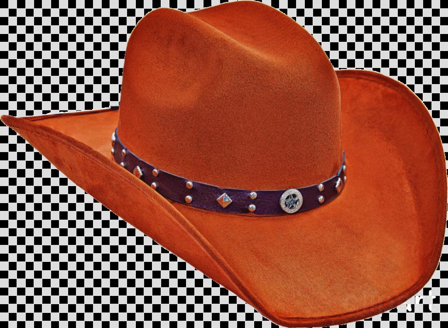 Download High Quality cowboy hat transparent orange ...