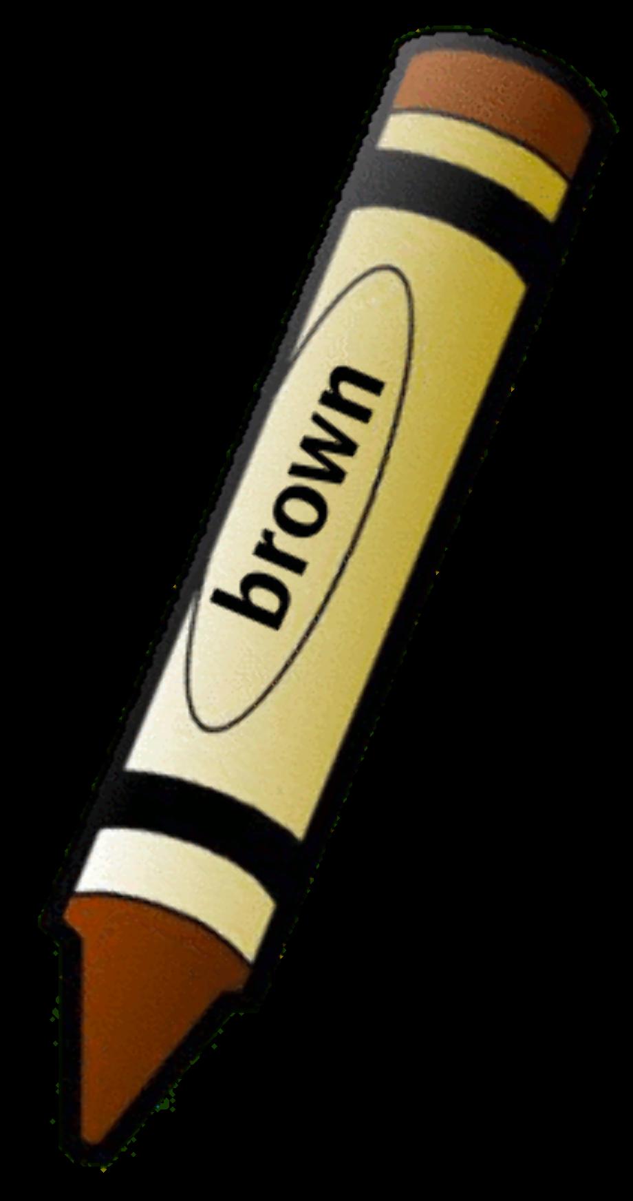 Crayons brown
