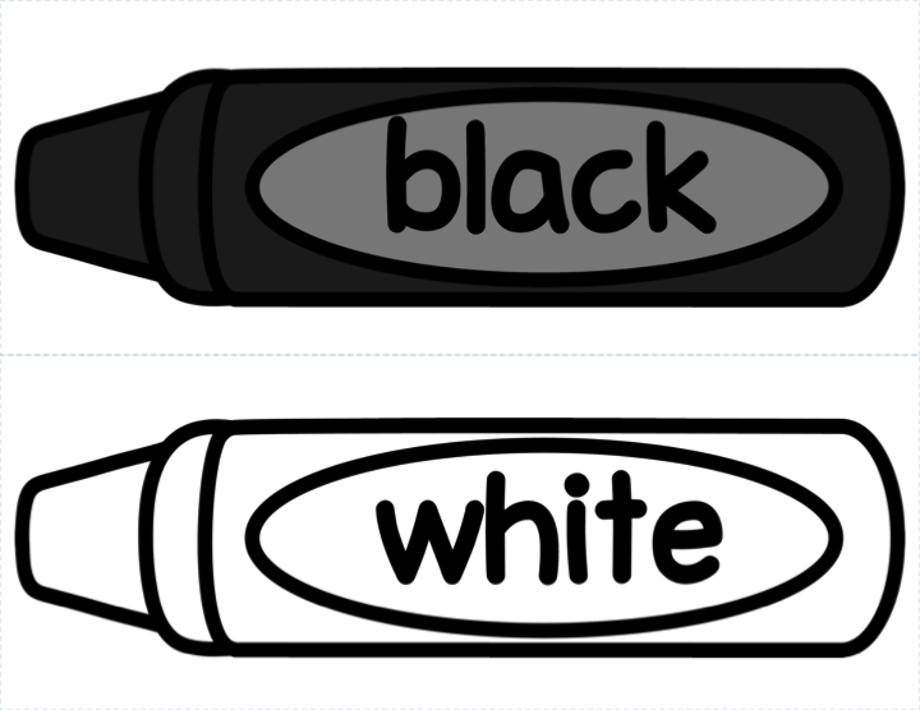 Crayon black