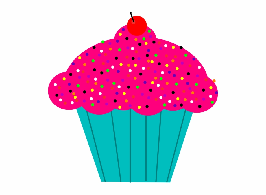 cupcake clipart transparent