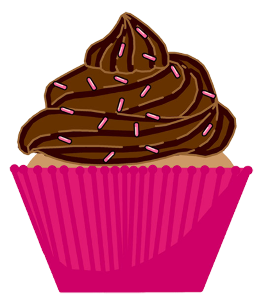 cupcake clipart clear background