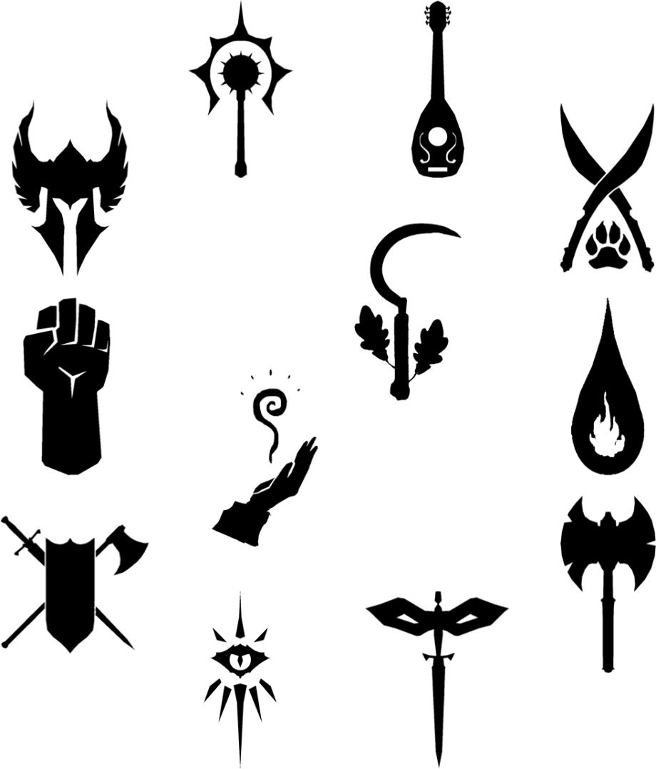 D&d logo symbol