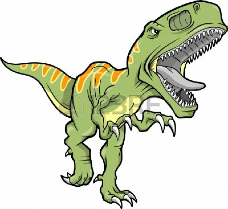download high quality dinosaur clipart scary transparent
