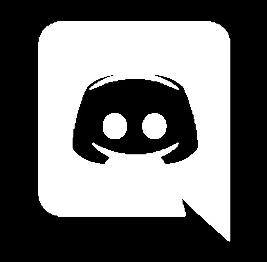 Discord logo transparent grey